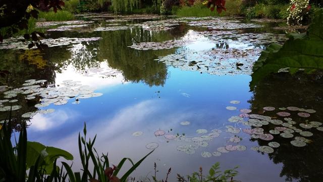 Monet's Garden outside Paris